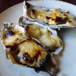焼チーズ牡蠣